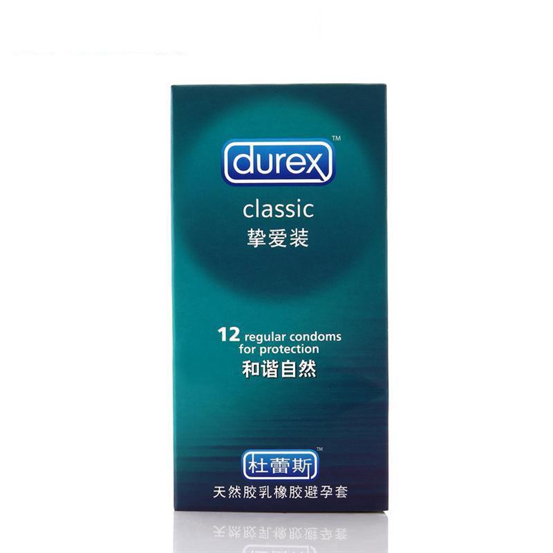 杜蕾斯避孕套 挚爱装 12只 安全套