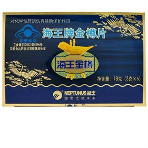 海王金樽 18片 金樽片辅助保护 化学性肝损伤 喝酒、应酬 常备