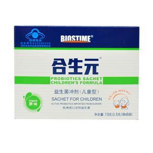合生元 儿童益生菌冲剂  1.5g*5袋