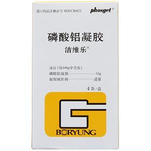 洁维乐 磷酸铝凝胶 4袋