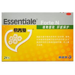 易善复  多烯磷脂酰胆碱胶囊   24粒