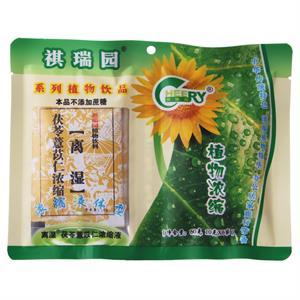 祺瑞园 茯苓薏苡仁浓缩液植物饮料  深圳祺瑞园  10克*6袋