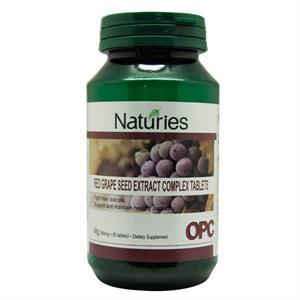 奈氏力斯白致 -- 红葡萄籽提取物复合片 60片