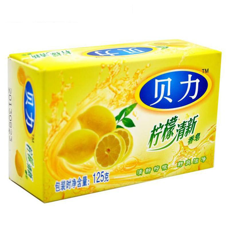 NO - 贝力 柠檬清新香皂  125G