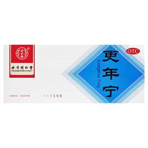 同仁堂,更年宁  北京同仁堂  4g*10瓶