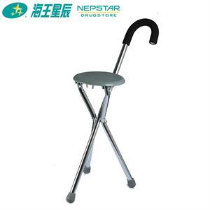 凯洋 拐杖KY911L 铝合金不锈钢 轻便 带折叠凳子椅子