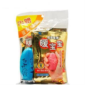 暖宝宝 暖手圣蛋(一次性使用取暖片+蛋盒容器)  上海小林  5片+1个