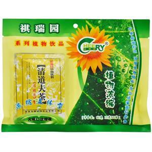 祺瑞园 清道夫茶浓缩液植物饮料  深圳祺瑞园  10克*6袋