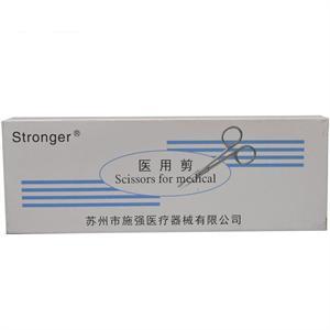 Stronger 医用剪(手术剪) 苏州施强  14CM直尖头