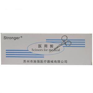 Stronger 医用剪(手术剪) 苏州施强  16CM直尖头