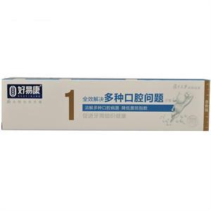 好易康 1针对多种口腔问题fe生物溶菌酶牙膏  江苏雪豹  120g