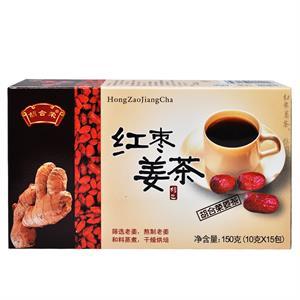 胡合荣 红枣姜茶  潮州市合荣  150克(10克*15包)
