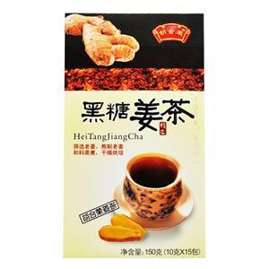 胡合荣 黑糖姜茶  潮州市合荣  150克(10克*15包)
