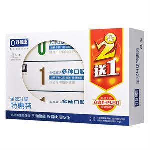 好易康 fe生物功效牙膏(全效升级特惠装) 江苏雪豹 120g*2+120g