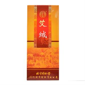 同仁堂 艾绒  北京同仁堂(亳州)   14.5g*10支/盒