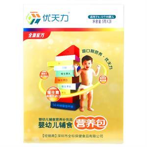 优天力 婴幼儿辅食营养包(适用6-12月婴儿)  赣州市全标  5克*28包