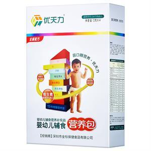 优天力 婴幼儿辅食营养包(适用13-36月幼儿) 赣州市全标 12克*14包