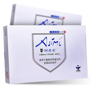 阿希米 壳聚糖妇女外用抗菌器(凝胶型)5g*6支(Ⅰ型)赠送银离子妇用抗菌凝胶1支 3g