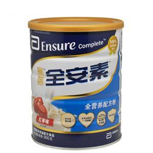 雅培全安素 全营养配方粉(红枣味)   荷兰   900克