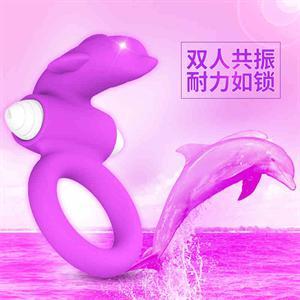 取悦,海豚锁精环-神秘紫  东莞爱巢  1个装