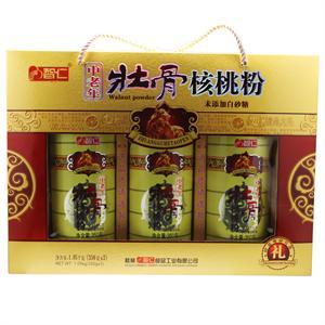 智仁 壮骨核桃粉  桂林智仁  1.05kg(350gx3瓶)
